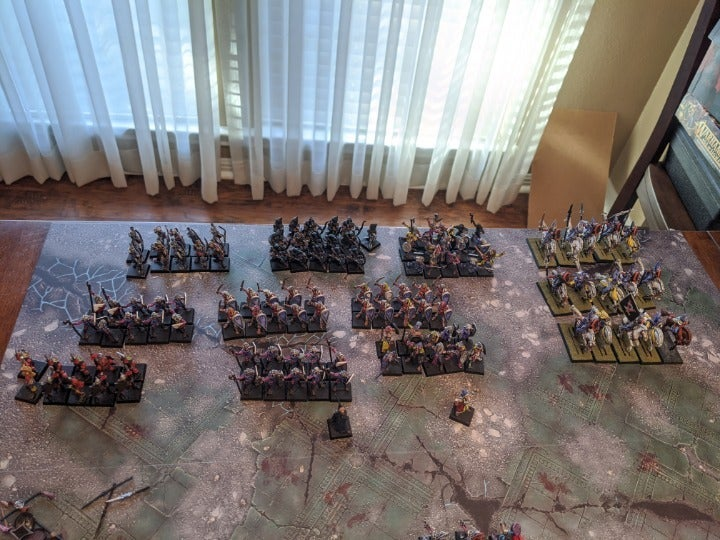 Warhammer Fantasy Oldhammer High Elves