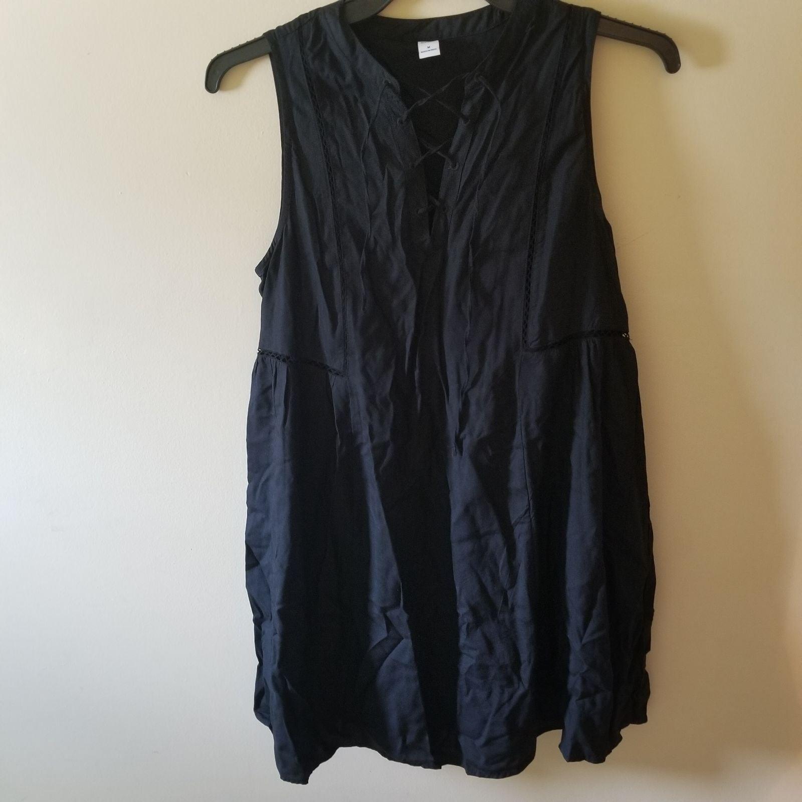 Old Navy Black Tank Dress