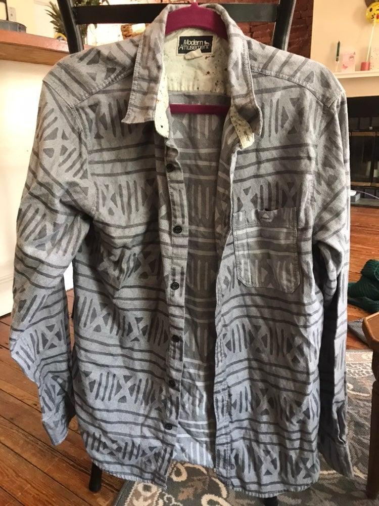 Modern Amusement Patterned Flannel