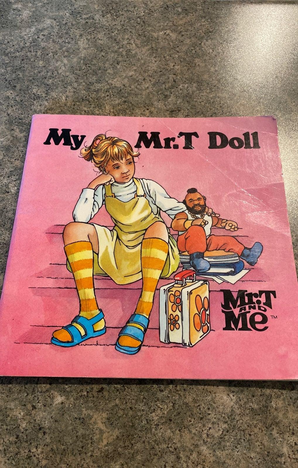 Vintage Mr. T doll book
