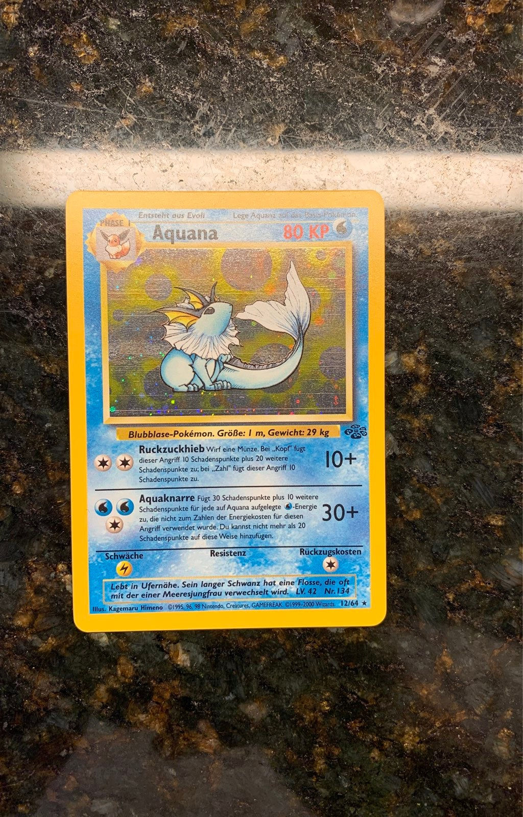 Vaporeon (Aquana) German Pokemon