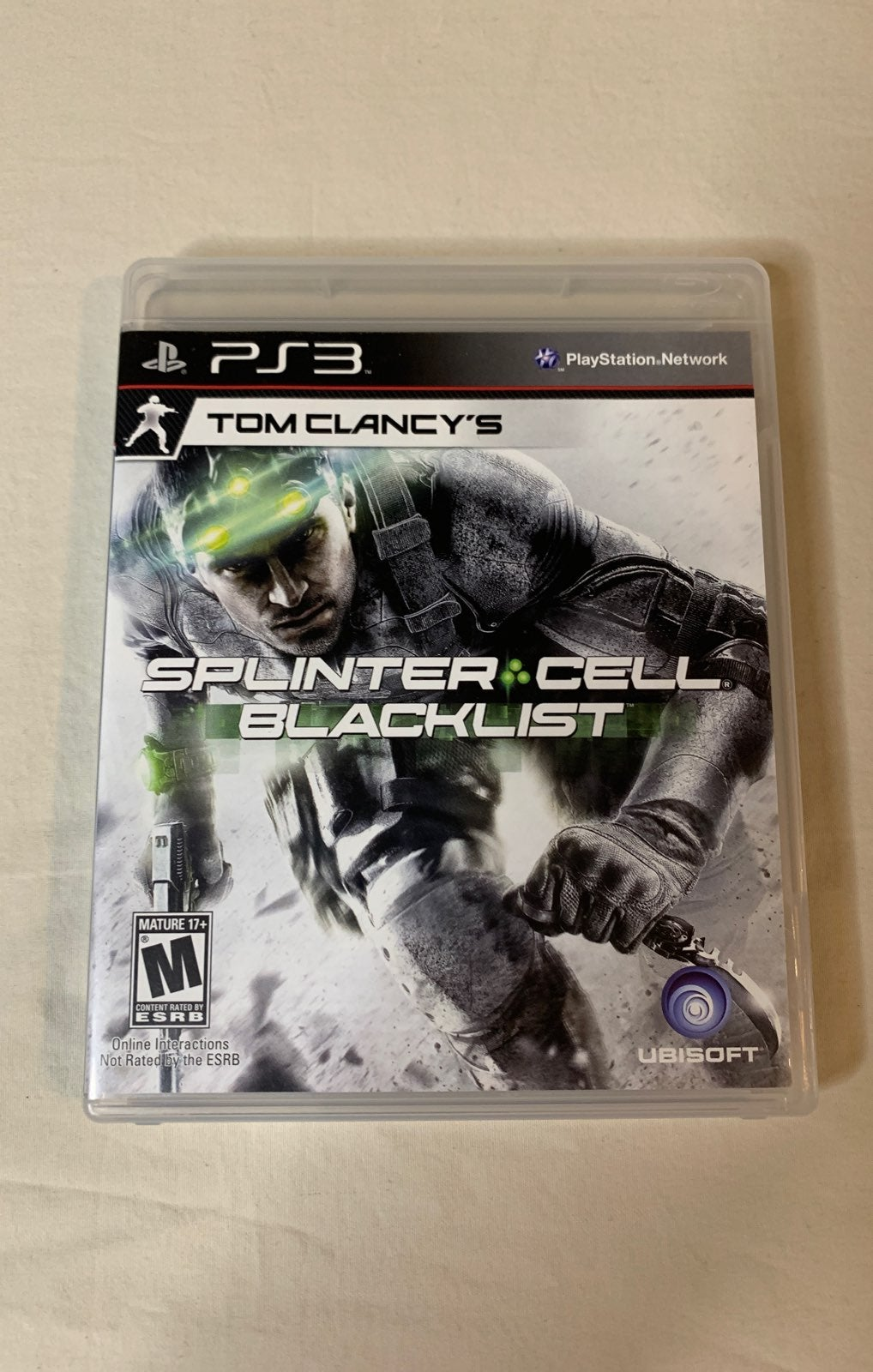 PS3 Tom Clancy Splinter Cell Blacklist