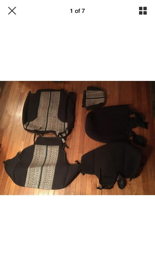 Coverking Saddle Blanket Seat Cover