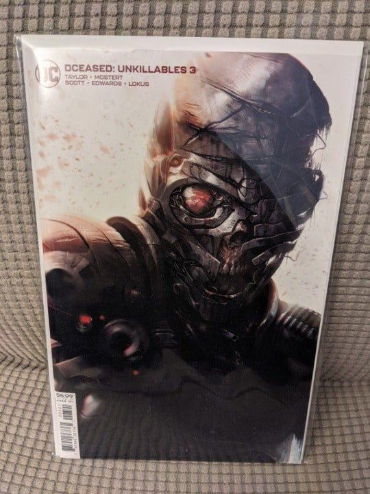 DCeased Unkillables #3 Cover B Variant
