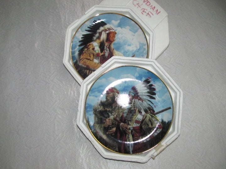 American Indian Heritage Porcelain Plate