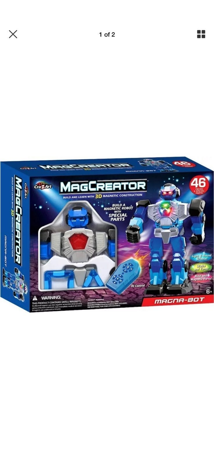 New Magna-Bot by Cra-Z-Art MagCreator fo