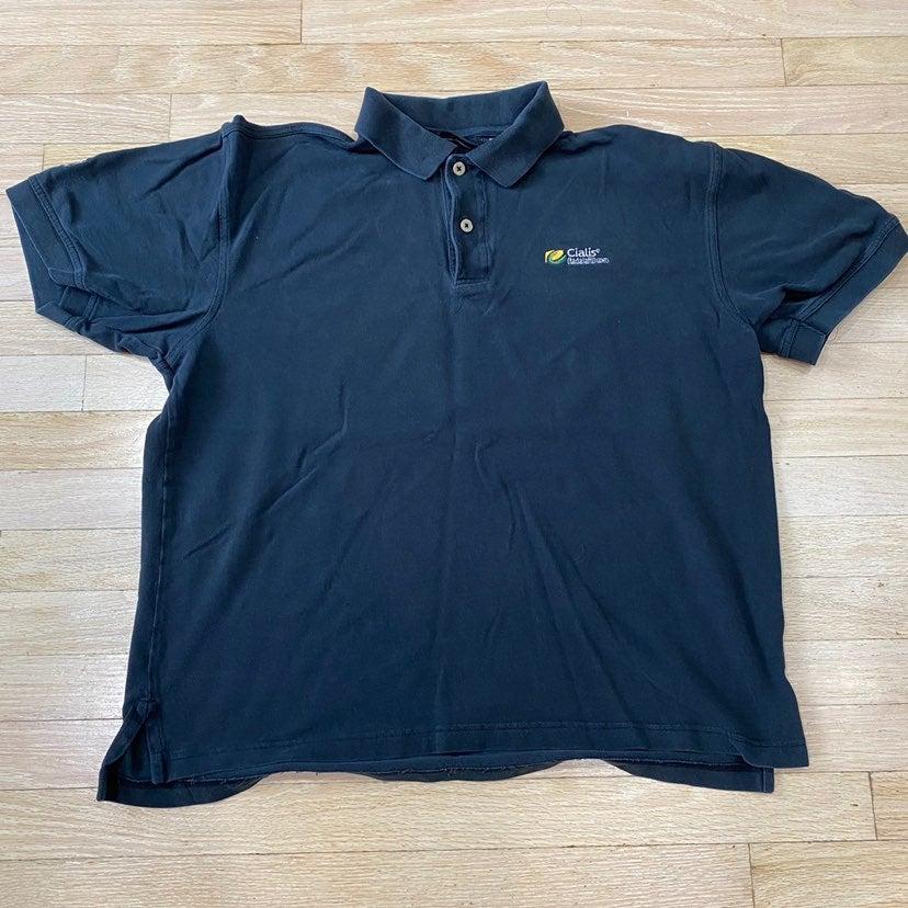 RARE Cialis PGA Tour polo shirt size L