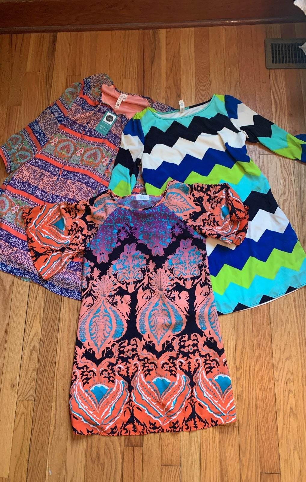 Boutique dress lot size small S Pink Owl