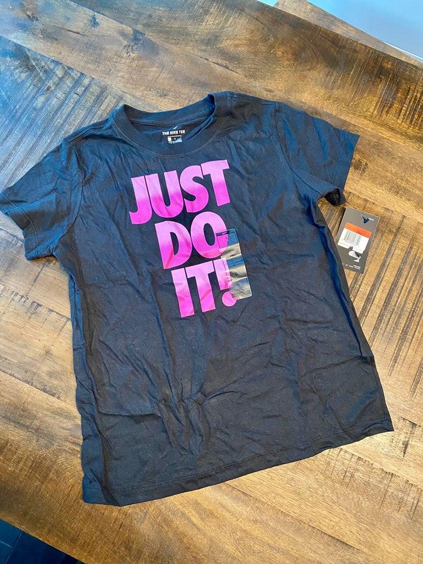 Nike Just do it kids shirt