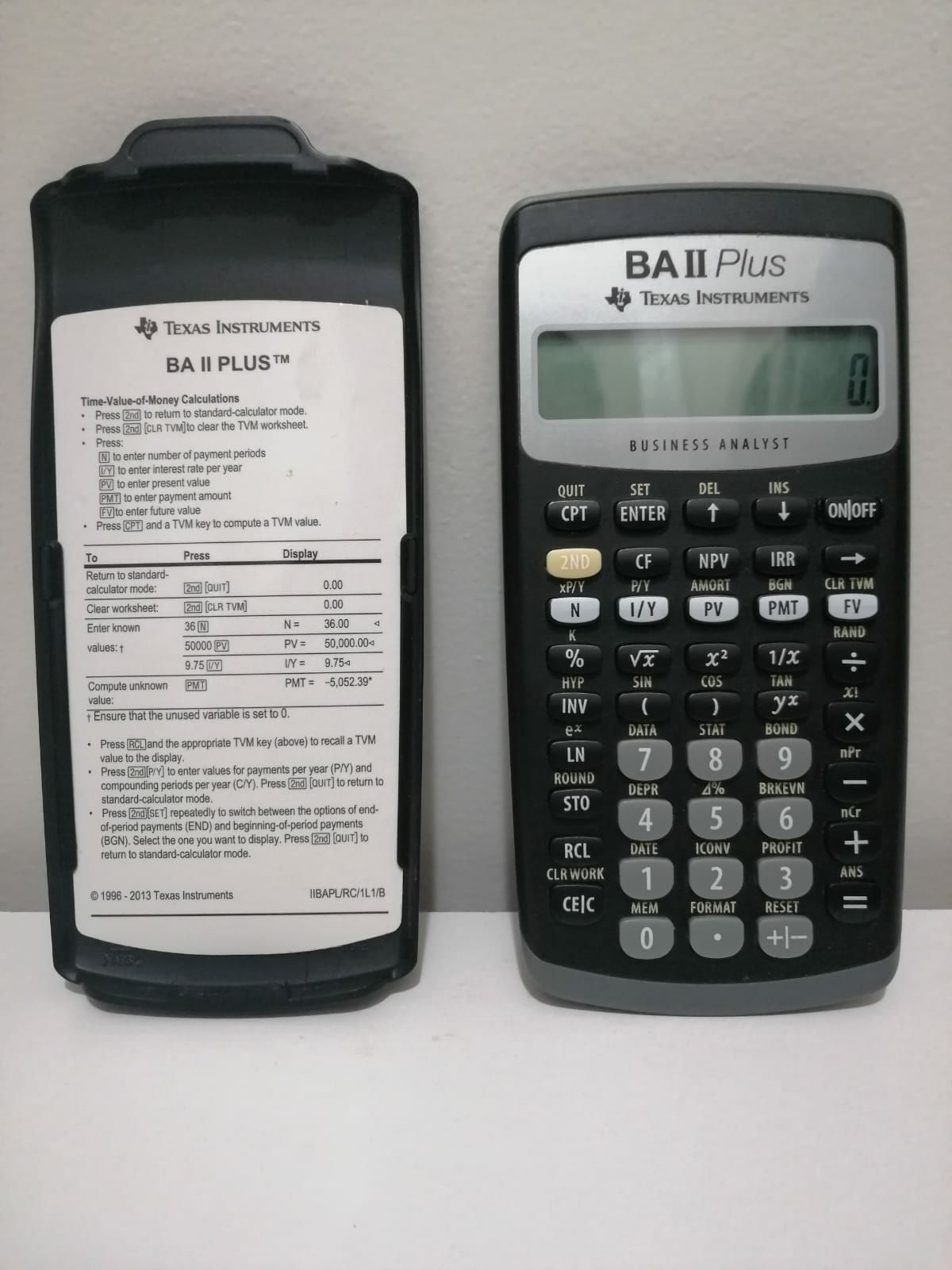 Texas Instruments BA-II Plus Calculator