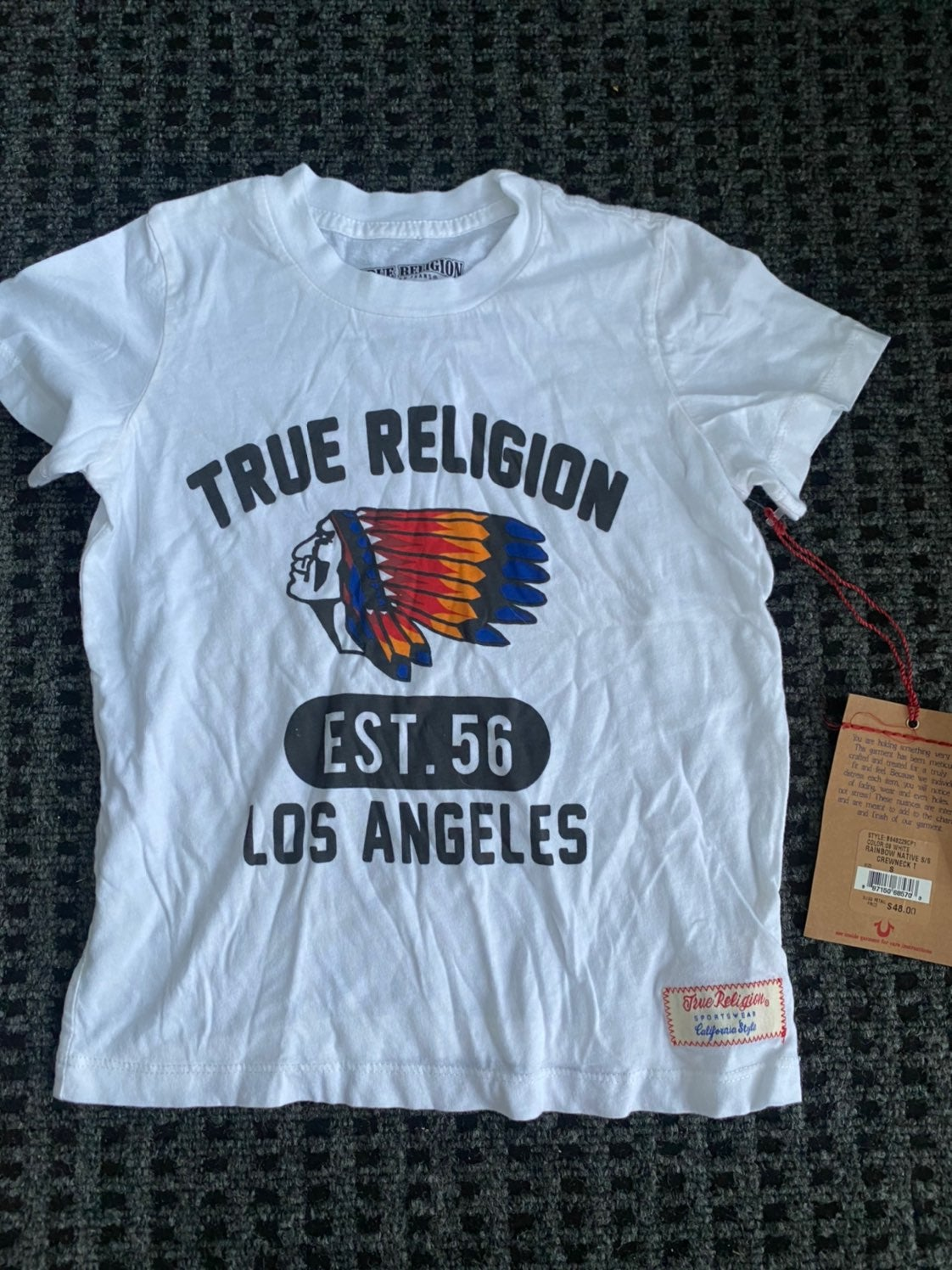 True religion boys shirt