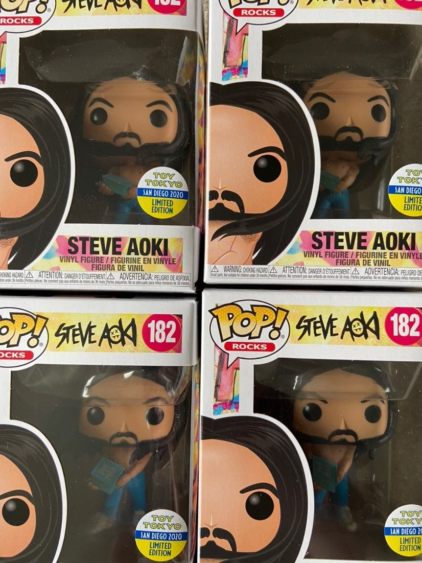 Funko Pop! Rocks Steve Aoki 2020 SDCC To