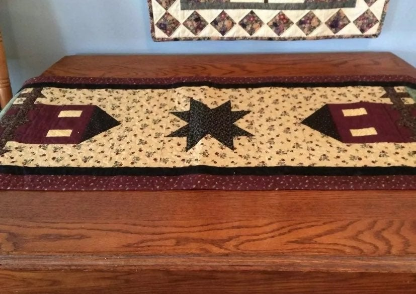 New Quilted Country Table Runner