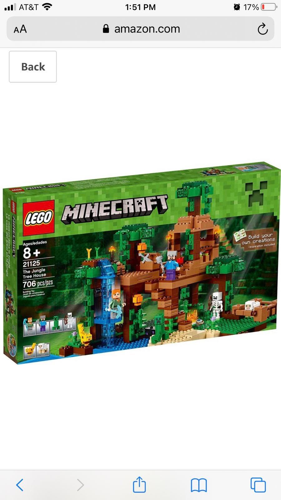 Lego Minecraft Treehouse