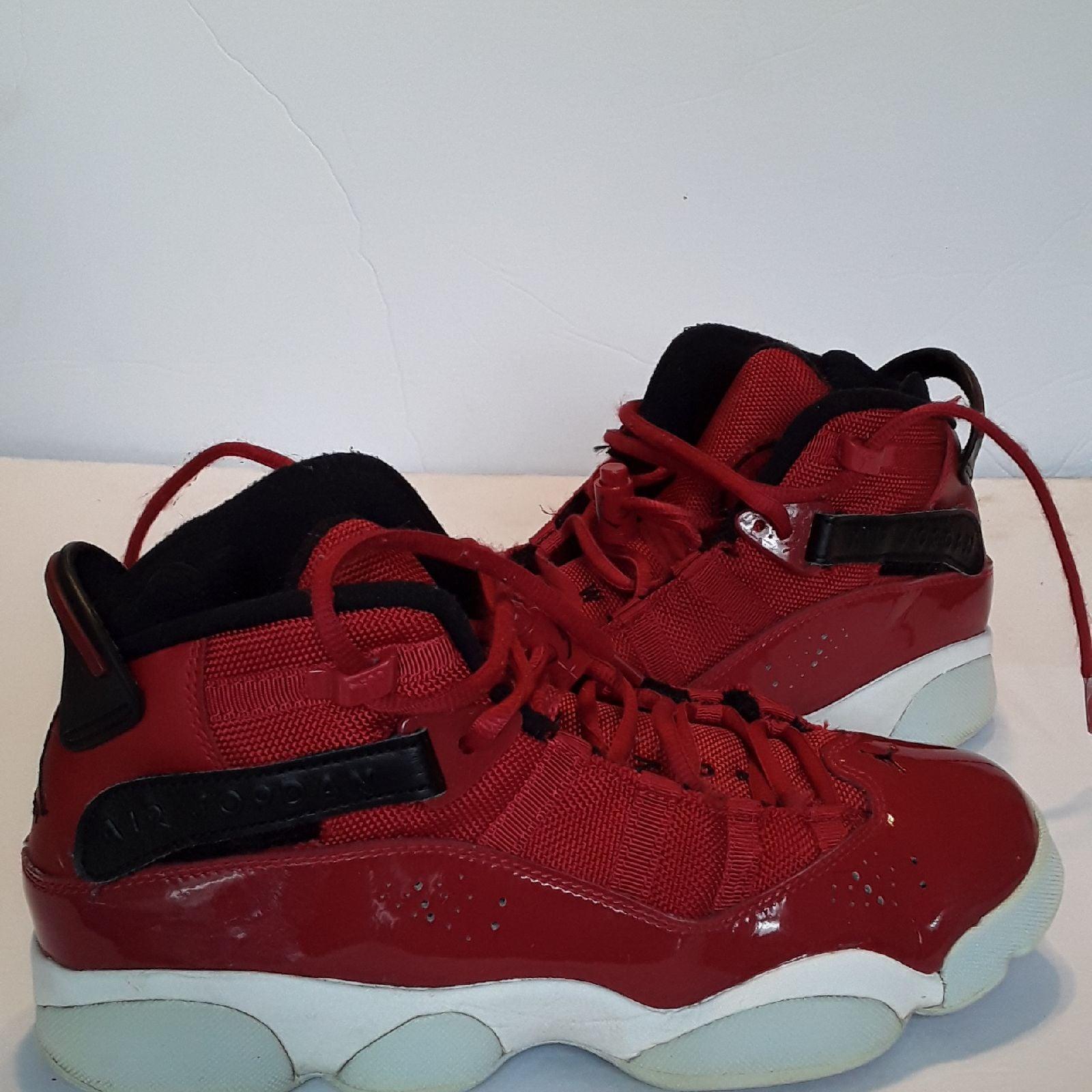 Jordan 6 rings red