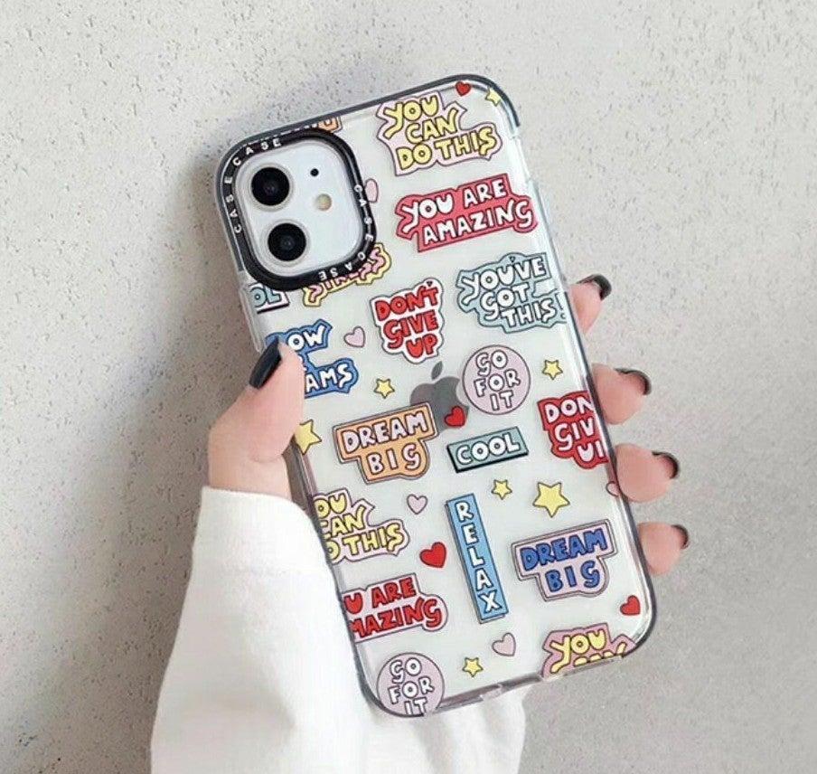 Iphone 11 case Motivation