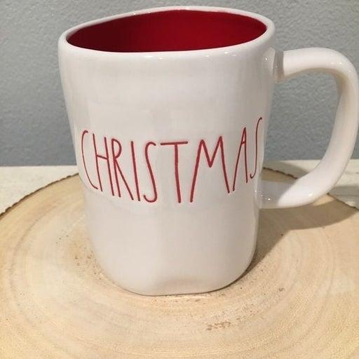 RD Double Sided Merry Christmas Mug