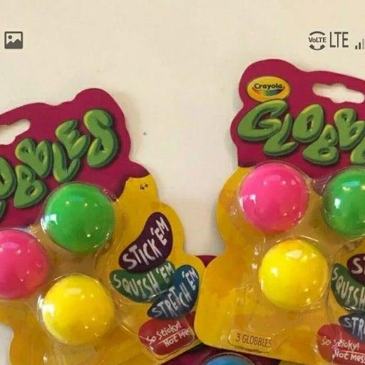 2 packs crayola globbles fidget