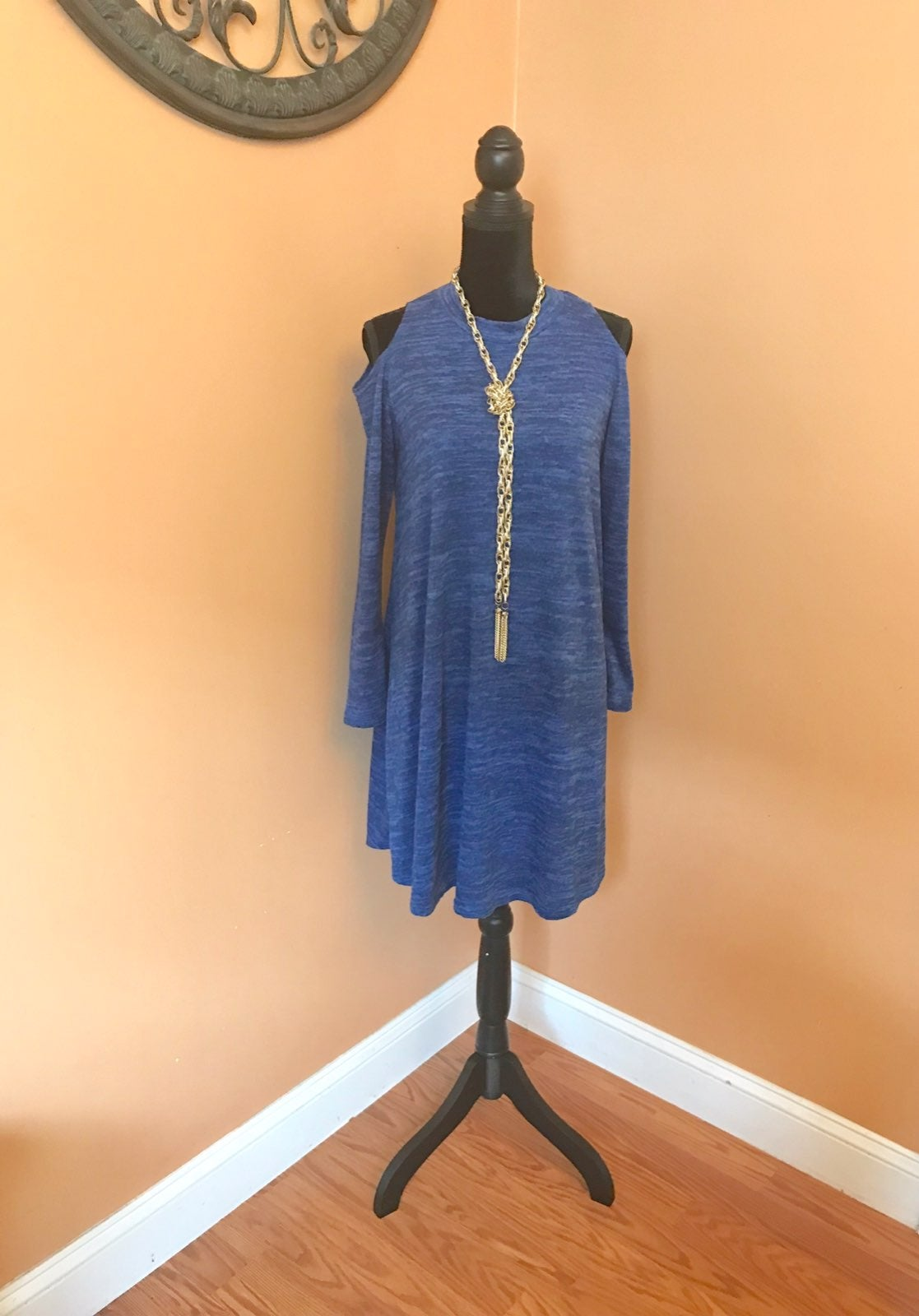 Bar III Cold Shoulder Dress Size M