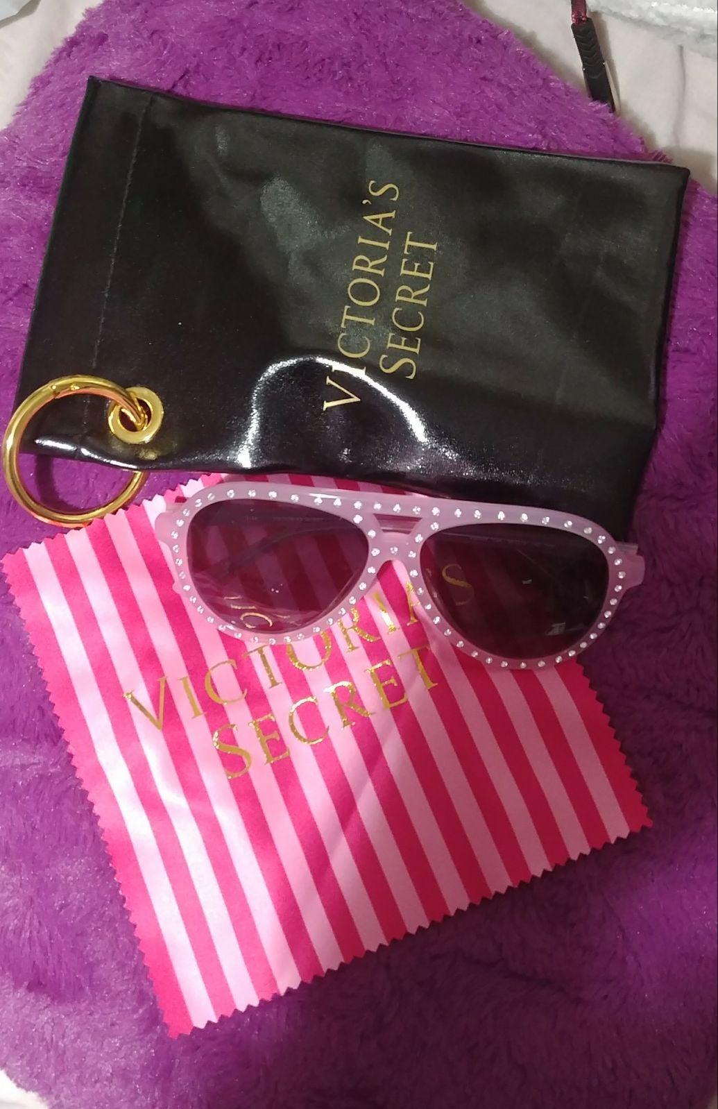 VS sparkle aviator sunglasses