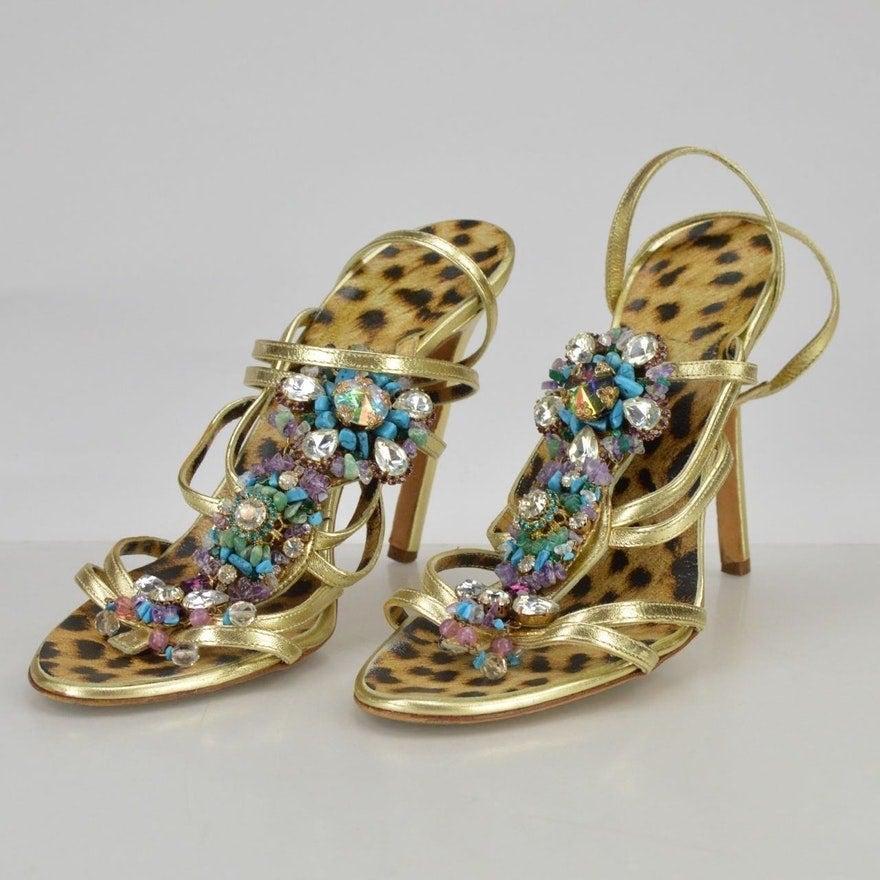 roberto cavalli designer shoes