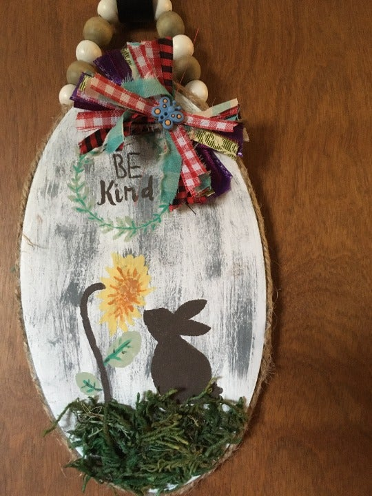 Handcrafted wood wall Hanging