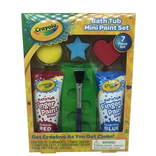 Crayola Bath Tub Paint 7 Piece Set
