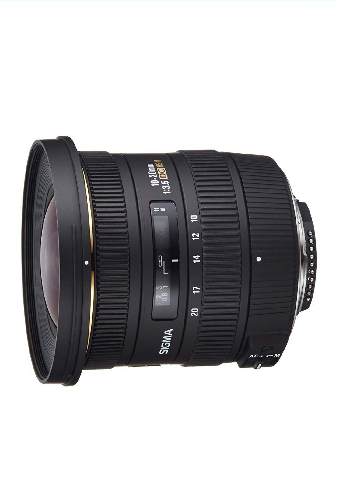 Sigma 10-20mm f3.5 EX DC Lens Nikon