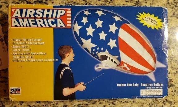 1999 Interactive Airship America Blimp