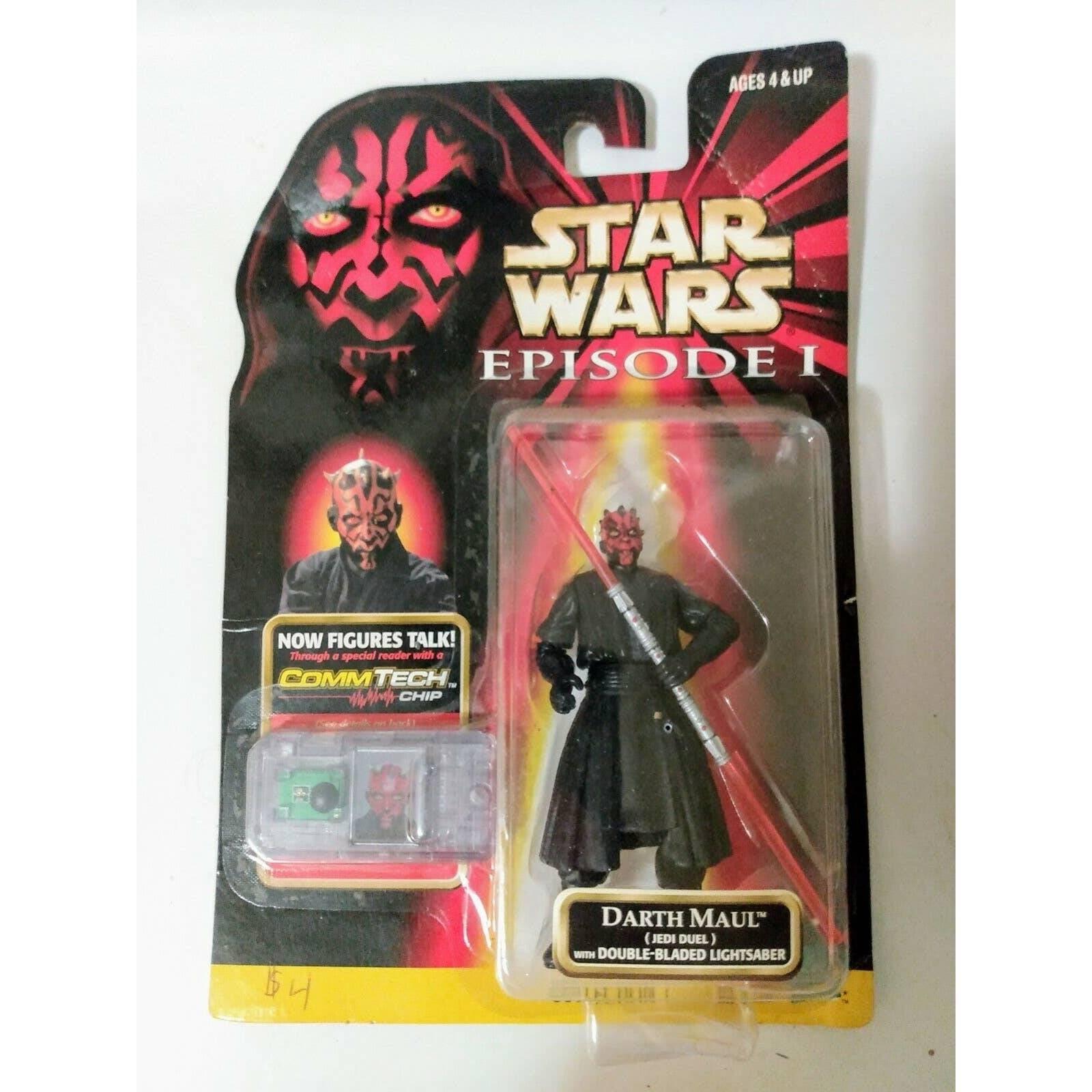 Star Wars Darth Maul w/ CommTech Chip