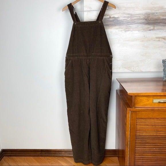 VINTAGE Woolrich Brown Corduroy Overalls