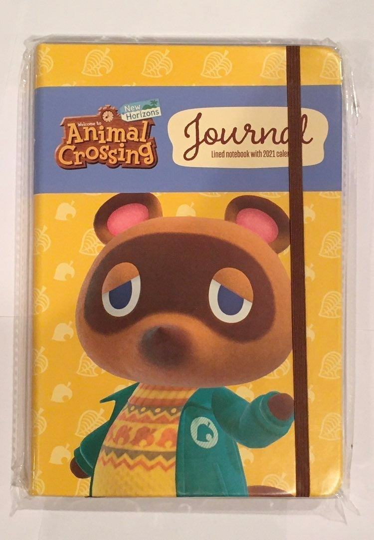 *New* Animal Crossing Tom Nook Journal