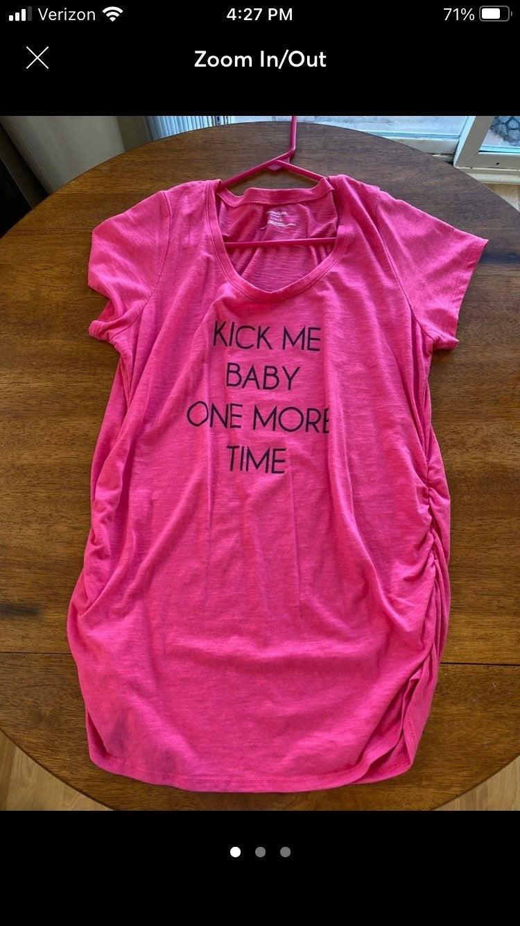 Funny maternity shirt top