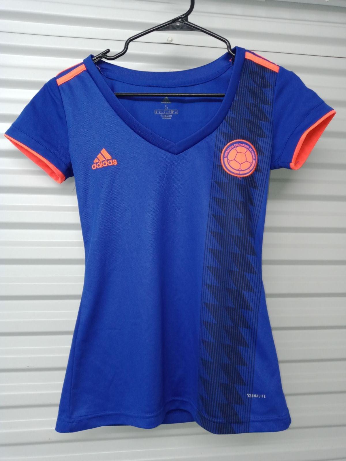 Adidas Sz Small Blue/Orange FCDF Jersey