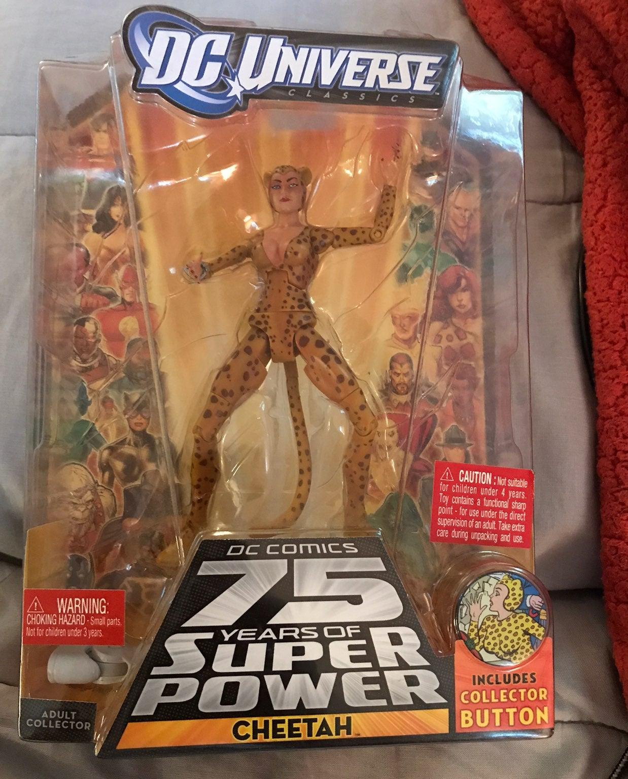 DC universe classics cheetah unopened