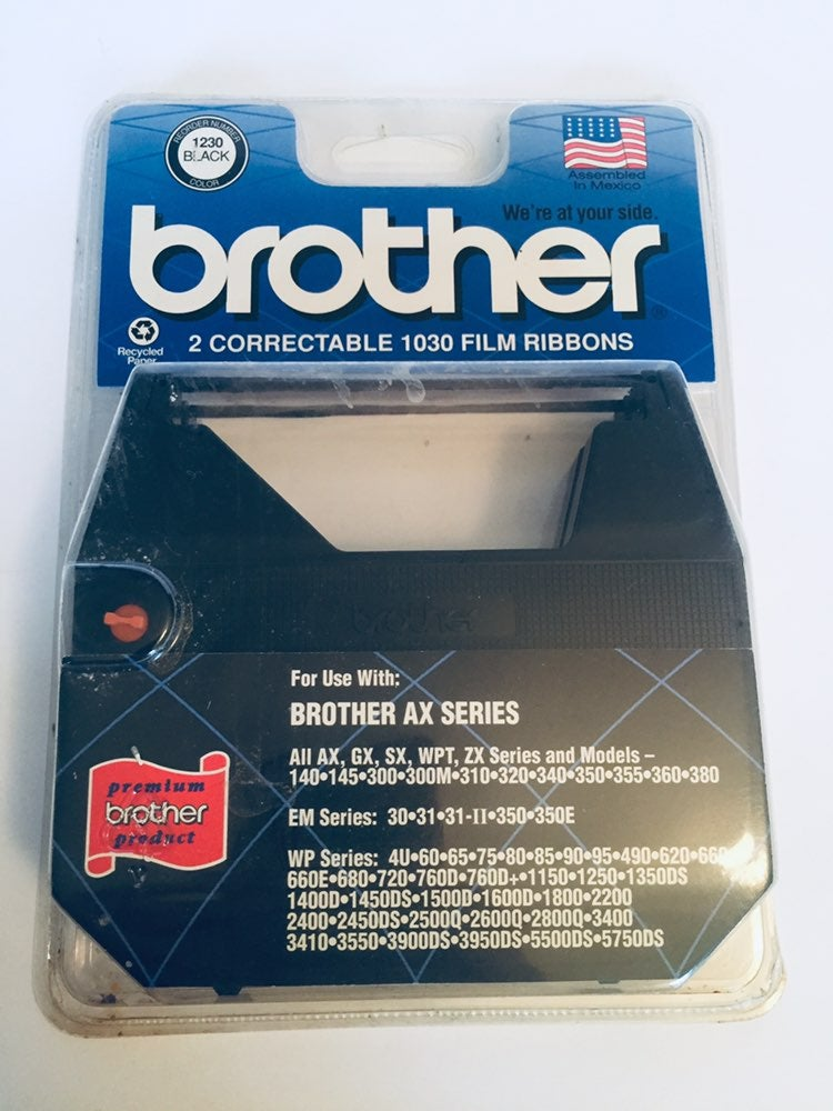 Brother 2 Correctable 1030 Film Ribbons
