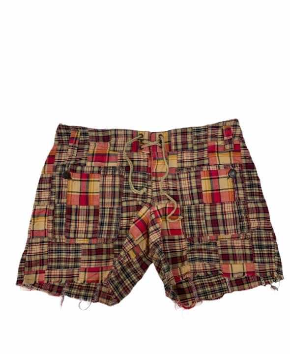 Free People Madras shorts size 4
