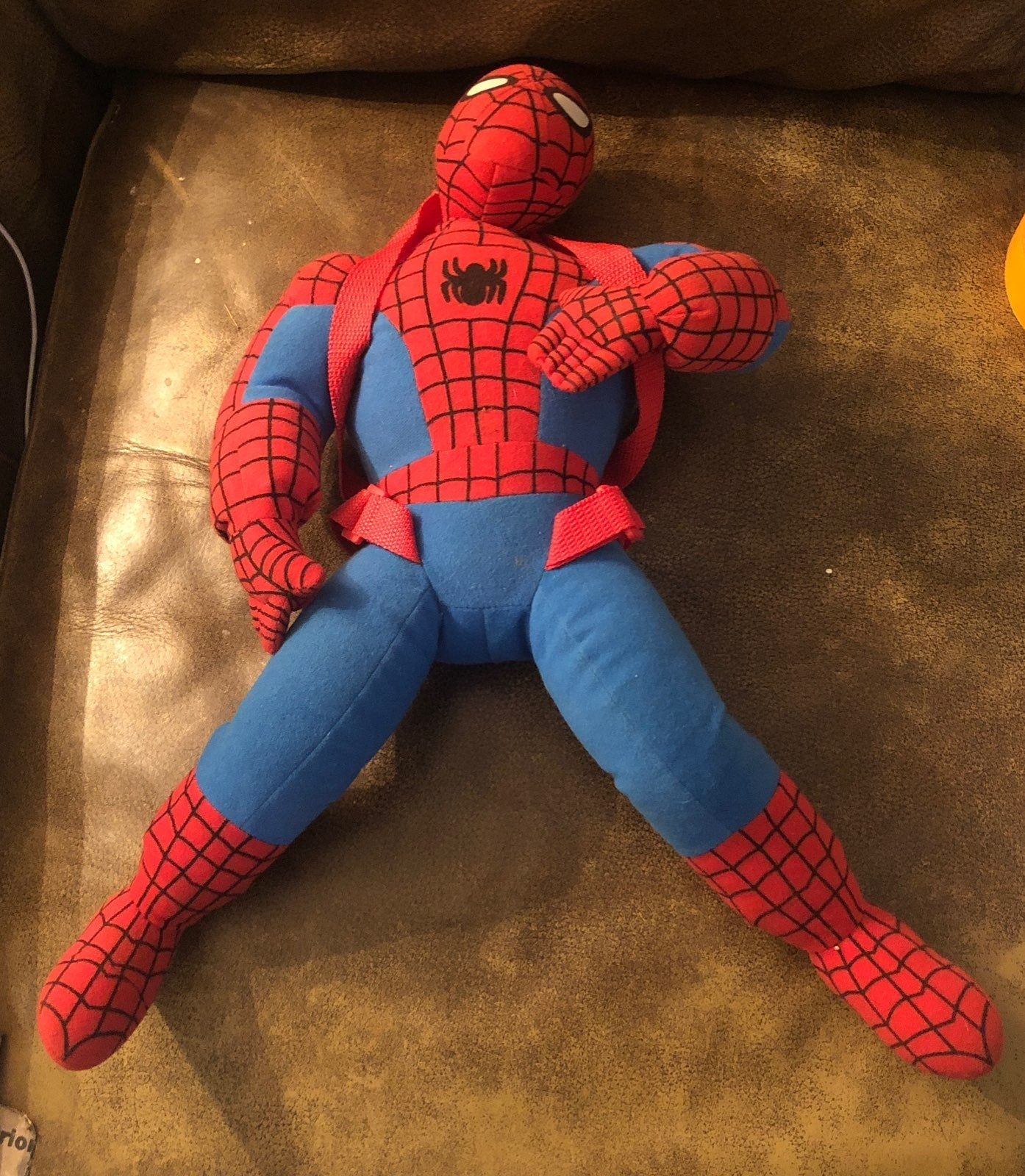 Spiderman Plush Back Pack