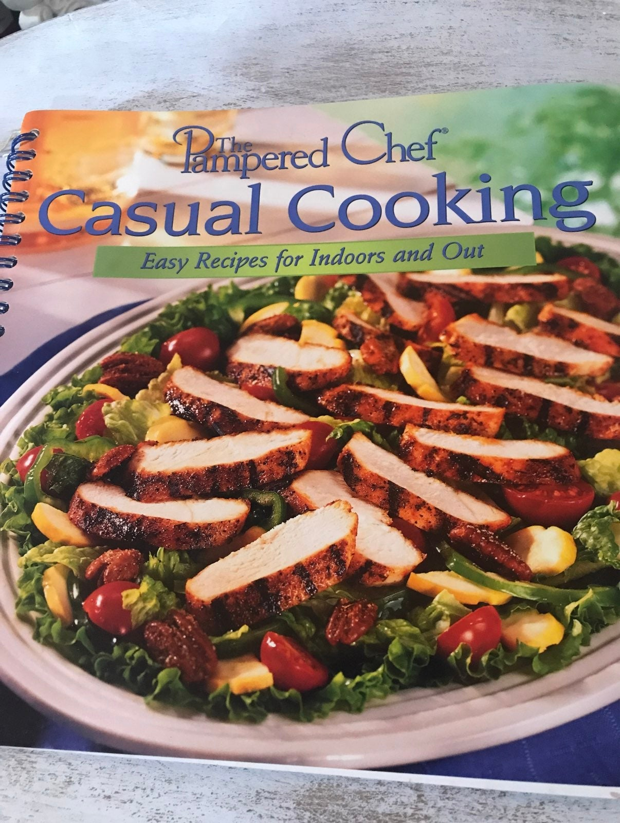 Cookbook the pampered chef