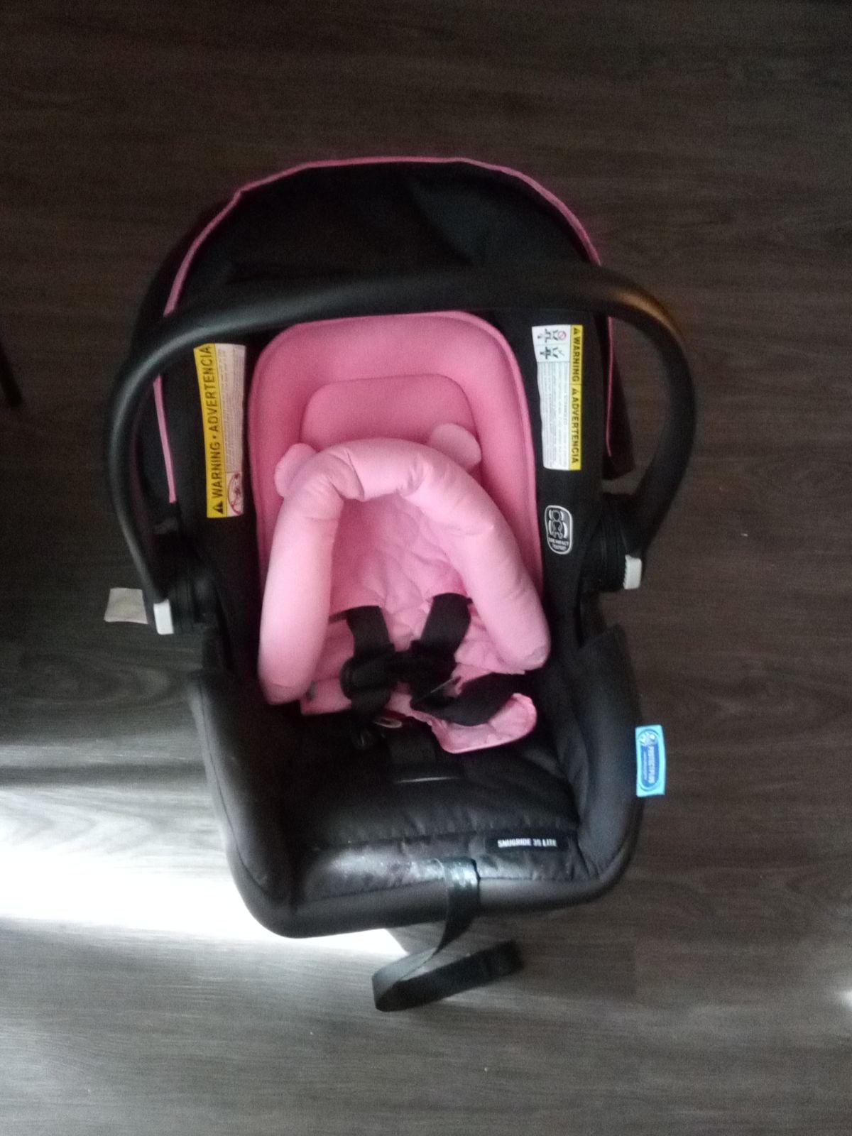 Baby girl car seat