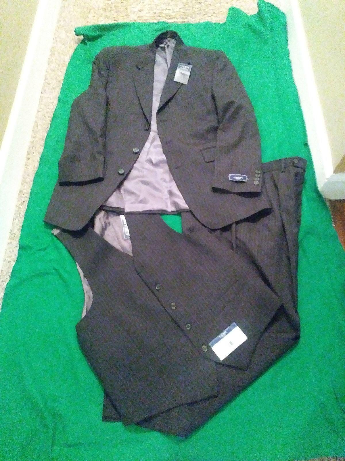 Men's Three Pc. Suit
