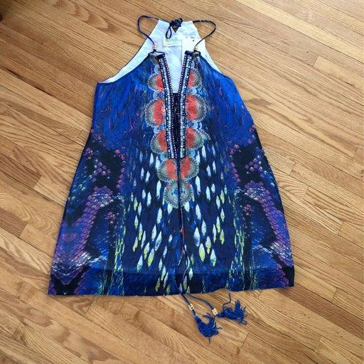 NWT Wanderlujo halter blouse S