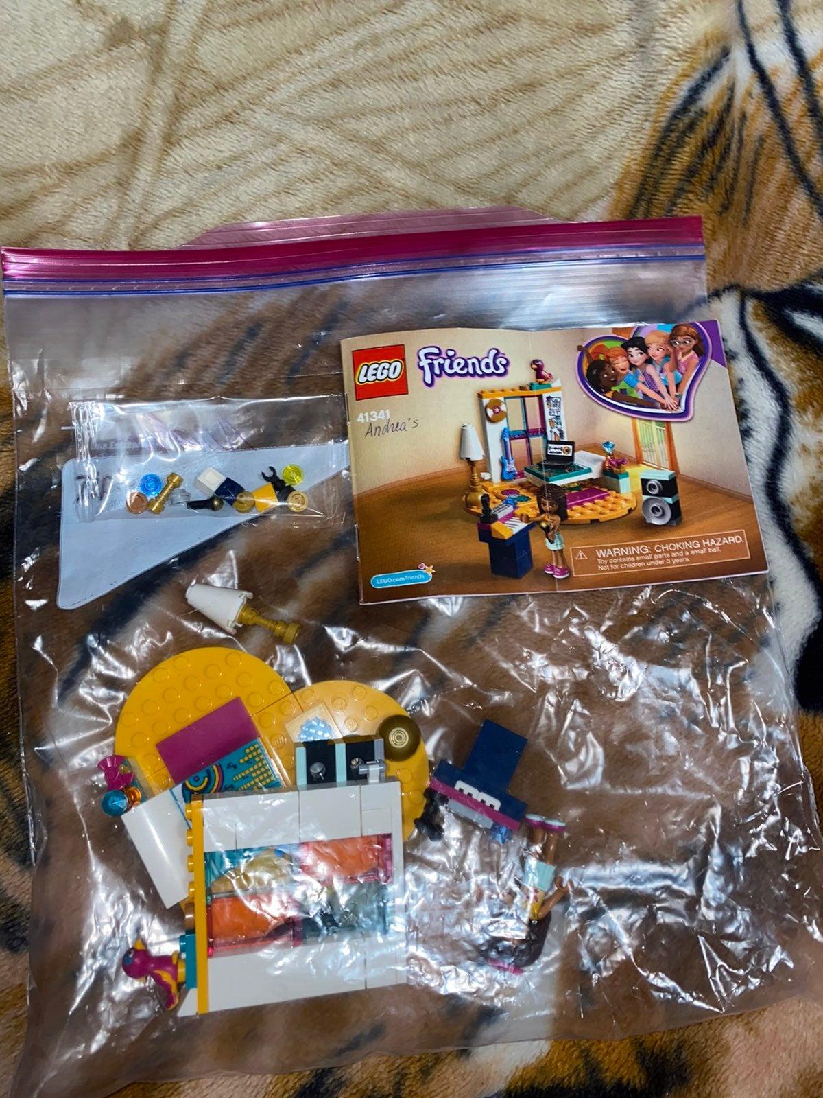 LEGO Friends:  Andrea's DJ Pod