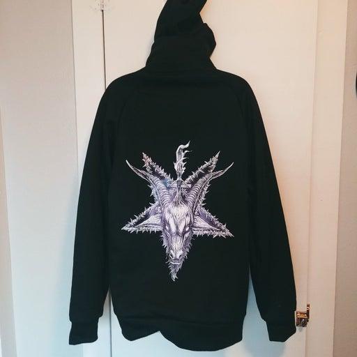 Black Craft Style Hoodie