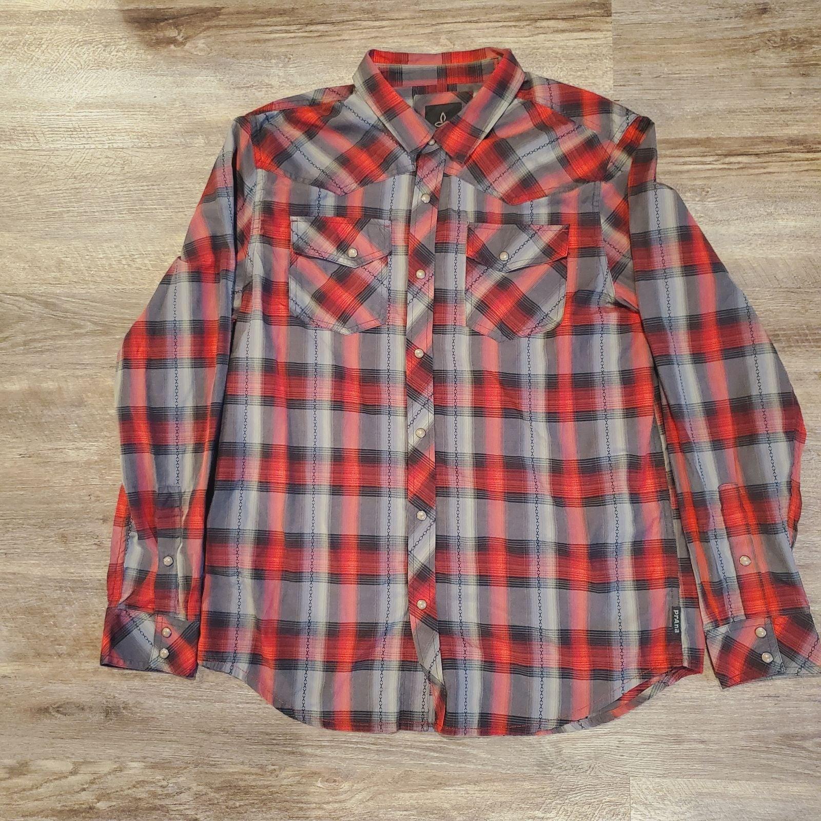 Prana Men's Button Down Shirt