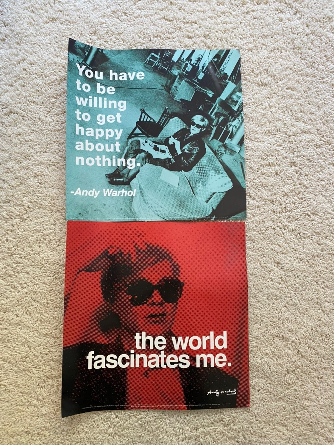Andy Warhol Posters 12X12