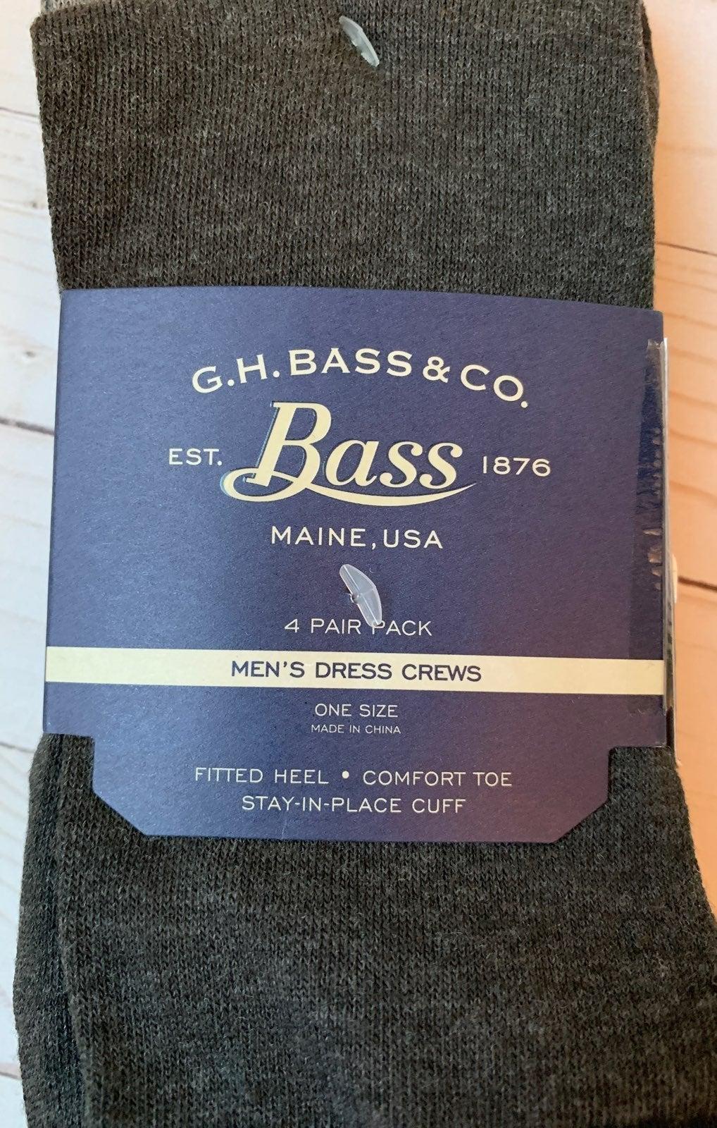 NWT Bass mens socks