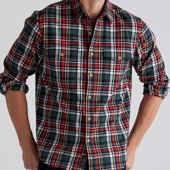 Lucky Brand flannel shirt, size XL
