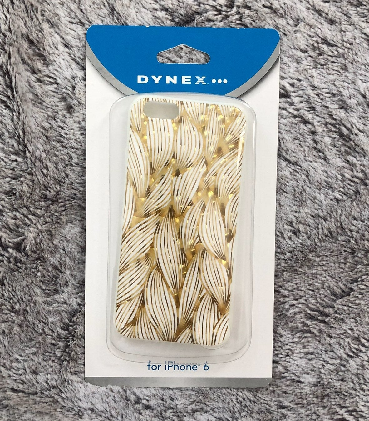 Gold & White iPhone 6 Case NIB