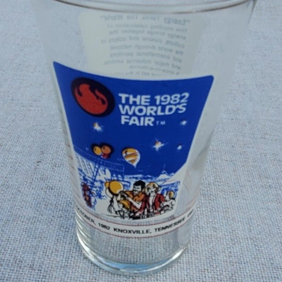 1982 World's Fair Glass - Knoxville, TN